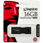 USB Flash накопитель 16Gb Kingston DataTraveler 100 G3