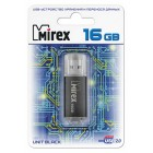 USB Flash накопитель 16Gb Mirex UNIT BLACK